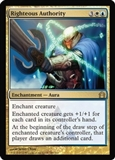 Magic the Gathering Return to Ravnica Single Righteous Authority Foil