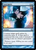 Magic the Gathering Return to Ravnica Single Syncopate FOIL