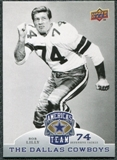 2009 Upper Deck America's Team #26 Bob Lilly
