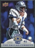 2009 Upper Deck America's Team #28 Charlie Waters