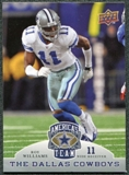 2009 Upper Deck America's Team #95 Roy Williams WR