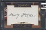2011 Donruss Limited Cuts #244 Monty Stratton Auto #15/27