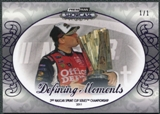2012 Press Pass Showcase Purple #51 Tony Stewart Defining Moment 1/1