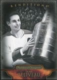 2011/12 Upper Deck Parkhurst Champions #156 Jean Beliveau Reditions Black & White