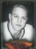 2011/12 Upper Deck Parkhurst Champions #157 Bobby Hull Reditions Black & White