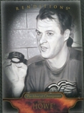 2011/12 Upper Deck Parkhurst Champions #158 Gordie Howe Reditions Black & White