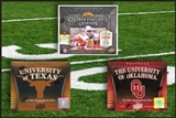 COMBO DEAL - 2011 UD NCAA Football Hobby Boxes #1 (College Legends, Oklahoma, Texas)
