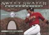 2009 Upper Deck Sweet Spot Swatches #CL Carlos Lee