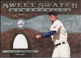 2009 Upper Deck Sweet Spot Swatches #GS Grady Sizemore