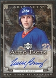 2006/07 Upper Deck Artifacts Autofacts #AFBY Mike Bossy Autograph