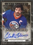 2006/07 Upper Deck Artifacts Autofacts #AFCG Clark Gillies Autograph