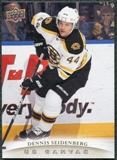 2011/12 Upper Deck Canvas #C8 Dennis Seidenberg