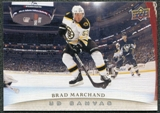 2011/12 Upper Deck Canvas #C9 Brad Marchand