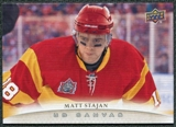2011/12 Upper Deck Canvas #C19 Matt Stajan