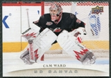 2011/12 Upper Deck Canvas #C21 Cam Ward