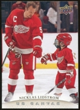 2011/12 Upper Deck Canvas #C37 Nicklas Lidstrom