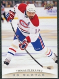 2011/12 Upper Deck Canvas #C45 Tomas Plekanec