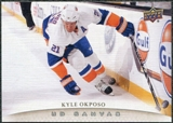 2011/12 Upper Deck Canvas #C54 Kyle Okposo