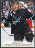 2011/12 Upper Deck Canvas #C69 Joe Pavelski