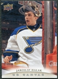 2011/12 Upper Deck Canvas #C72 Jaroslav Halak