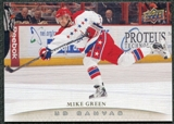 2011/12 Upper Deck Canvas #C87 Mike Green