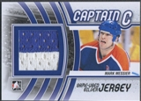 2011/12 ITG Captain-C #M34 Mark Messier Silver Jersey