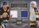2006/07 Artifacts #TTCR Cam Neely & Ray Bourque Tundra Tandems Blue Jersey #03/25