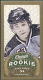 2009/10 Upper Deck Champ's Mini Blue Backs #172 Ryan Vesce RC