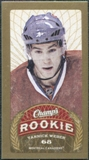 2009/10 Upper Deck Champ's Mini Red Backs #191 Yannick Weber RC