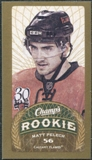 2009/10 Upper Deck Champ's Mini Red Backs #156 Matt Pelech RC