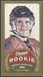 2009/10 Upper Deck Champ's Mini Green Backs #162 Mikael Backlund RC