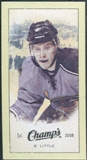 2009/10 Upper Deck Champ's Mini Green Backs #201 Bryan Little