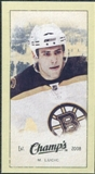 2009/10 Upper Deck Champ's Mini Green Backs #202 Milan Lucic