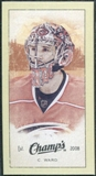 2009/10 Upper Deck Champ's Mini Green Backs #216 Cam Ward