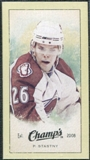 2009/10 Upper Deck Champ's Mini Green Backs #222 Paul Stastny