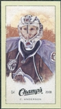 2009/10 Upper Deck Champ's Mini Green Backs #223 Craig Anderson