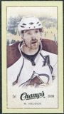 2009/10 Upper Deck Champ's Mini Green Backs #224 Milan Hejduk