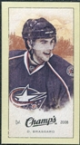 2009/10 Upper Deck Champ's Mini Green Backs #227 Derick Brassard