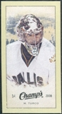 2009/10 Upper Deck Champ's Mini Green Backs #231 Marty Turco