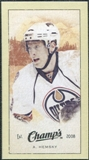 2009/10 Upper Deck Champ's Mini Green Backs #242 Ales Hemsky