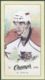 2009/10 Upper Deck Champ's Mini Green Backs #244 Michael Frolik