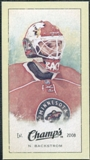 2009/10 Upper Deck Champ's Mini Green Backs #250 Niklas Backstrom