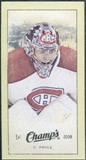 2009/10 Upper Deck Champ's Mini Green Backs #251 Carey Price