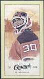 2009/10 Upper Deck Champ's Mini Green Backs #257 Martin Brodeur