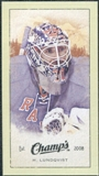 2009/10 Upper Deck Champ's Mini Green Backs #265 Henrik Lundqvist