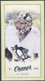 2009/10 Upper Deck Champ's Mini Green Backs #277 Marc-Andre Fleury
