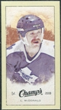 2009/10 Upper Deck Champ's Mini Green Backs #287 Lanny McDonald