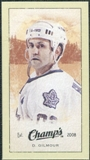 2009/10 Upper Deck Champ's Mini Green Backs #288 Doug Gilmour