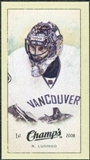 2009/10 Upper Deck Champ's Mini Green Backs #289 Roberto Luongo