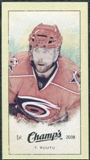 2009/10 Upper Deck Champ's Mini Green Backs #300 Tuomo Ruutu